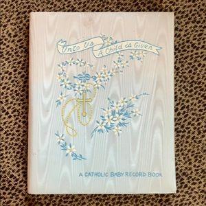 Catholic Baby Book
